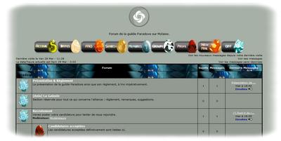 Forum Paradoxe prêt / Finale du Paradoxminator
