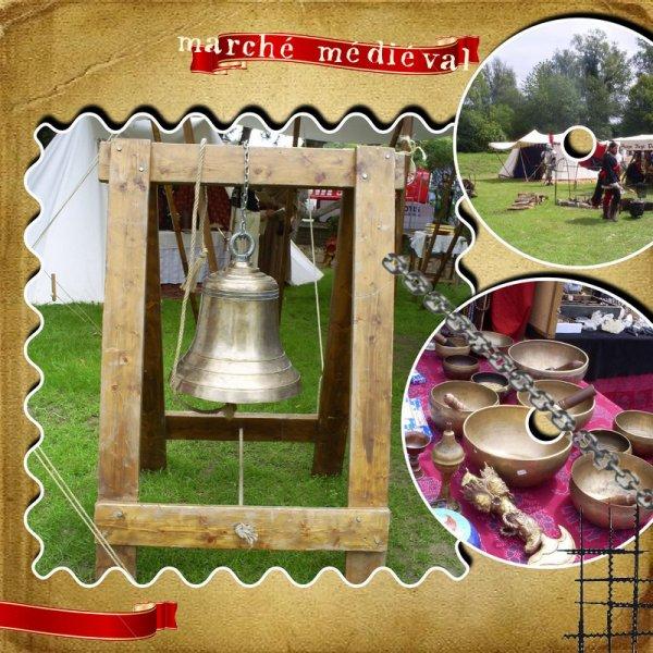 fête médiévale à Havré 2011