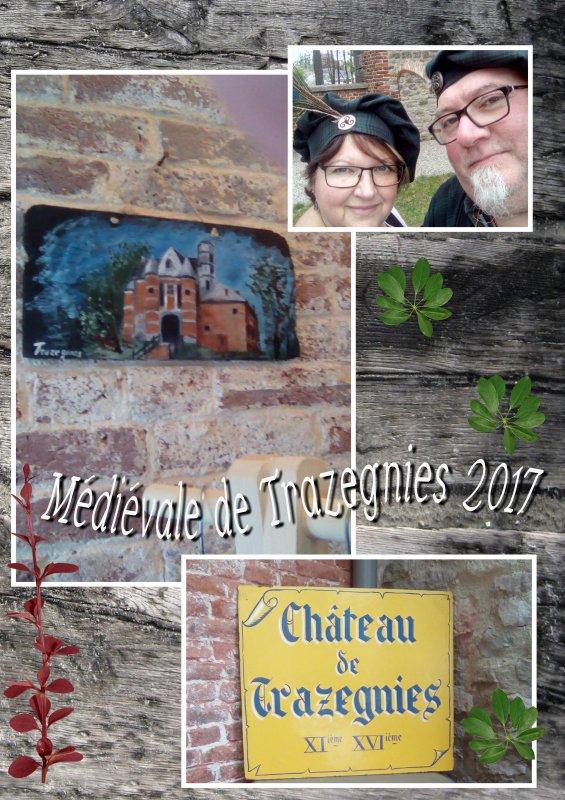 Fête médiévale au Château de Trazegnies.