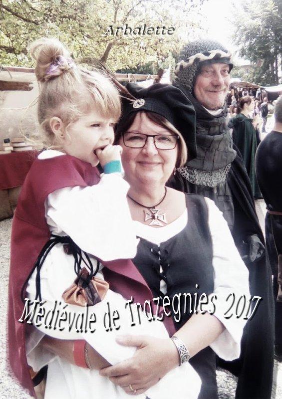 Fête médiévale au Château de Trazegnies
