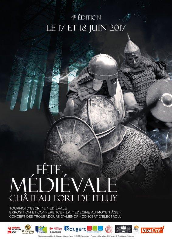 Fête médiévale de Feluy 2017