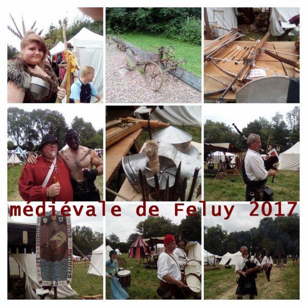 Quatrième édition des médiévales de Feluy 2017