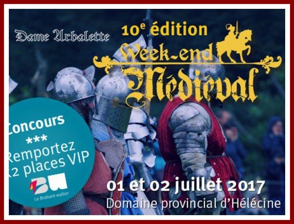 Week-end médiéval(le Domaine provincial d'Hélécine )