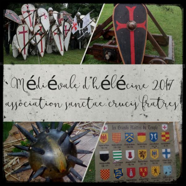 Médiévale d'Hélécine 2017(sanctae crucis fratres)