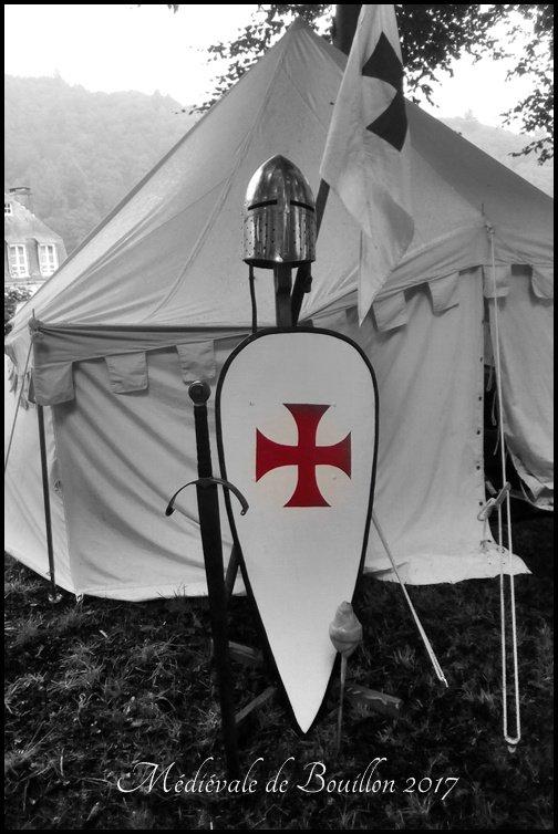 32ème Fête médiévale Bouillon( templiers du comté de Franchimont )