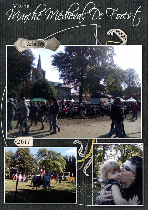 Marché Médieval De Forest