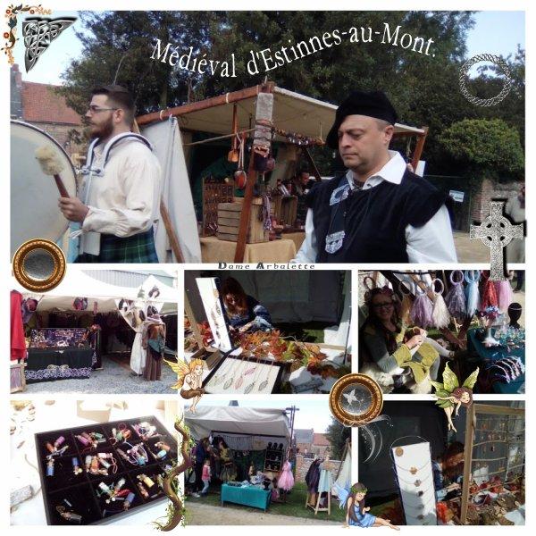 Fête médiévale - Journée Froissart à Estinnes-au-Mont