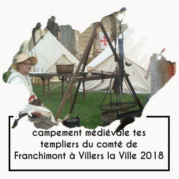 FESTIVAL OMBRES ET LUMIÈRES DU MOYEN AGE ( Abbaye de Villers ) templiers du comté de franchimont