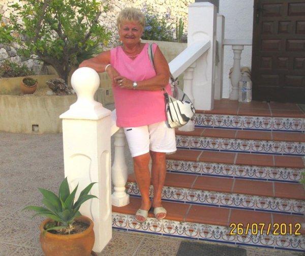 Moi en vacances à Calpe  juillet 2012