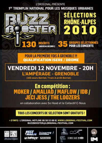 La SoHood© Production, Presente!!! le BUZZ BOOSTER a GRENOBLE
