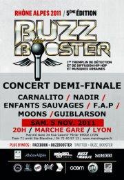 2EME DEMI FINALE BUZZ BOOSTER Région Rhône-Alpes!!!