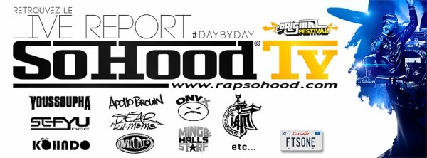 SoHood Tv en mode #DaybyDay (L'Original festival 2012)
