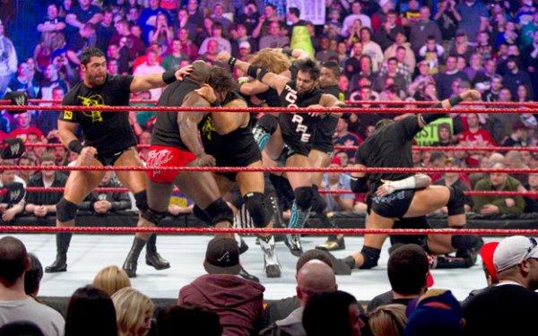 Résultat de The Nexus et The Corre : Royal Rumble, Dimanche 31 janvier