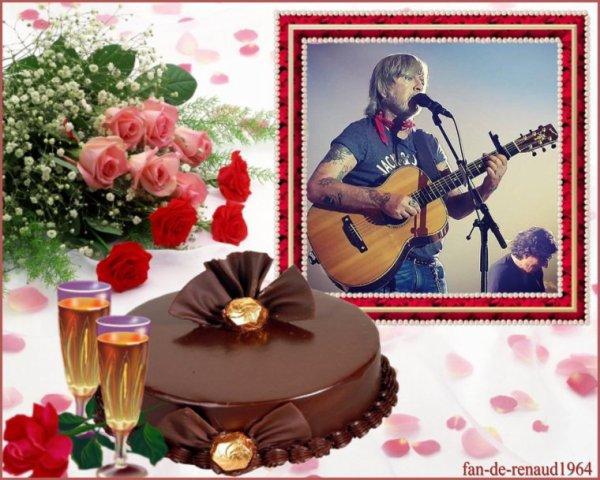 fan-de-renaud1964 fête ses 56 ans demain, pense à lui offrir un cadeau. Aujourd'hui à 00:30