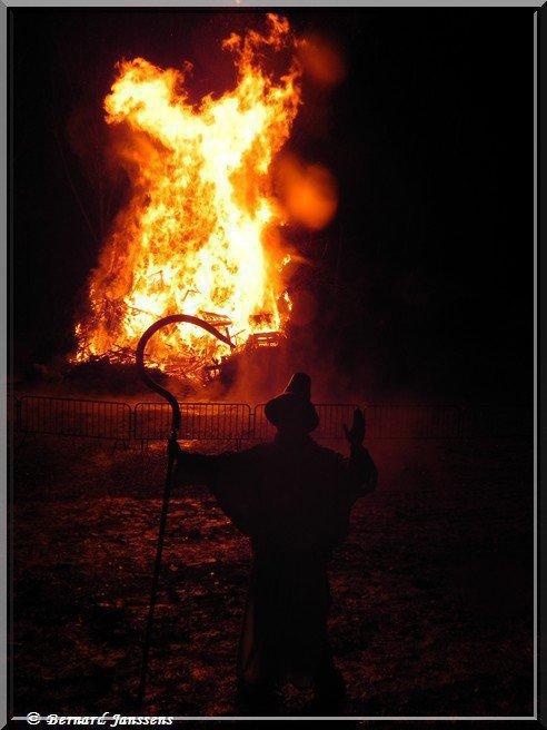 je serai au grand feu de Falisolle et sa foire se dérouleront haujourd houi