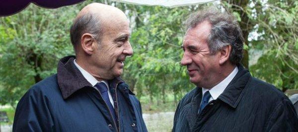 """Bayrou : """"J'ai beaucoup d'estime pour Alain Juppé"""""""