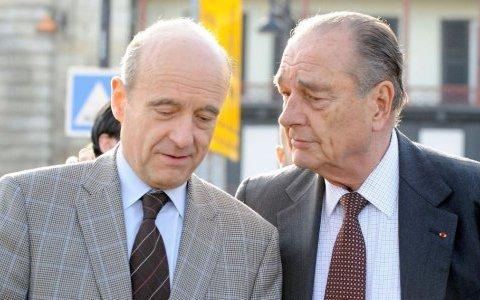 Jacques Chirac soutient Alain Juppé