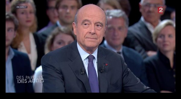 Alain Juppé fait un carton à Des Paroles et Des Actes sur France 2