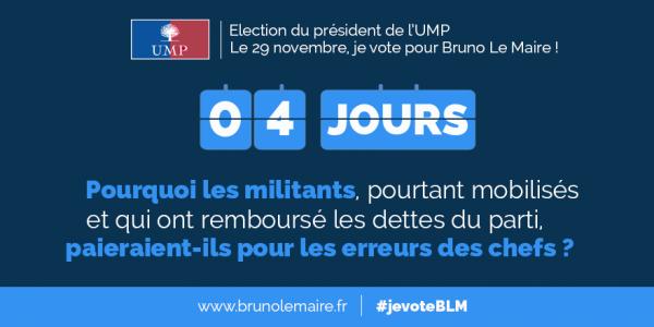 Présidence de l'UMP - Je vote Bruno Le Maire !