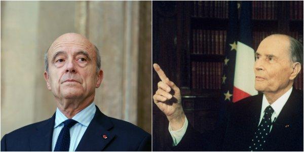 """Mitterrand partageait l'avis de Chirac au sujet de Juppé : """"De tous, c'est le meilleur"""""""