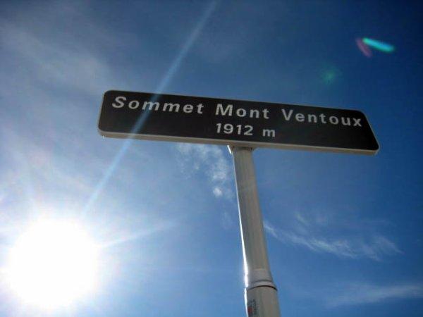 Mont Ventoux, le sommet