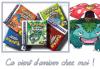 POKEMON Vert feuille - Rouge feu - Rubis - Saphir - Emeraude