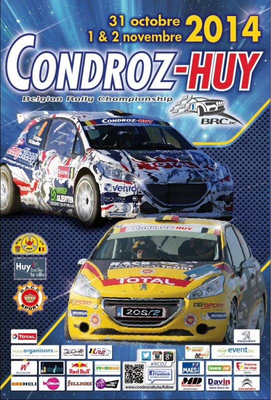 Belgian Rally Championship 2014.