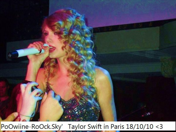 Taylor Swift 18/10/10 !!
