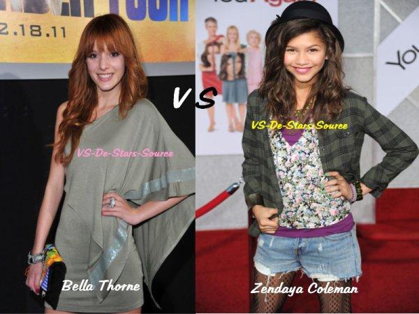 Bella Thorne VS Zendaya Coleman