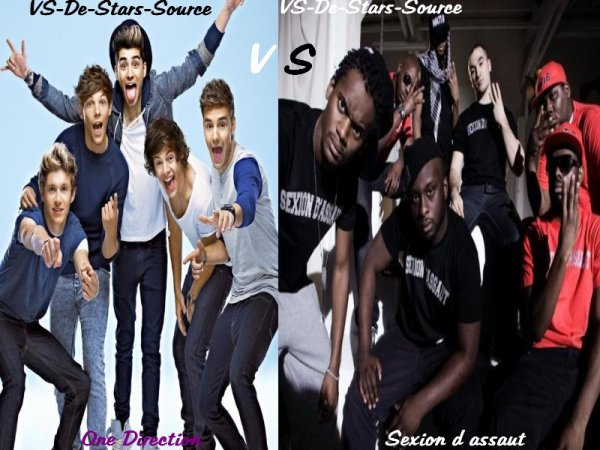 One Direction VS Sexion d'assaut