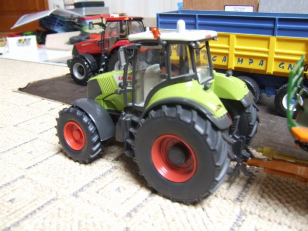 MODIF CLAAS AXION 850