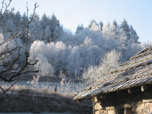 Bossabut sous la neige