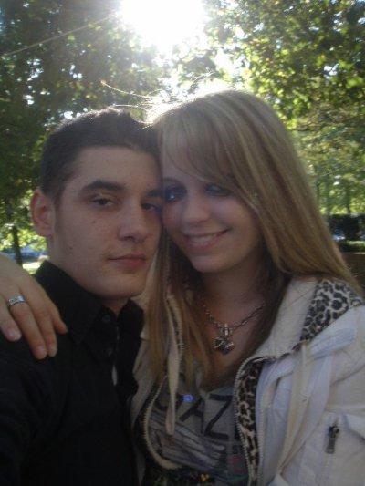 mon fils et ma belle fille :)