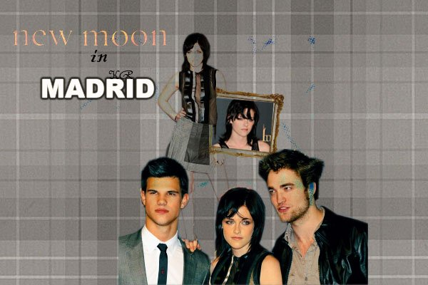 New Moon Madrid promotion