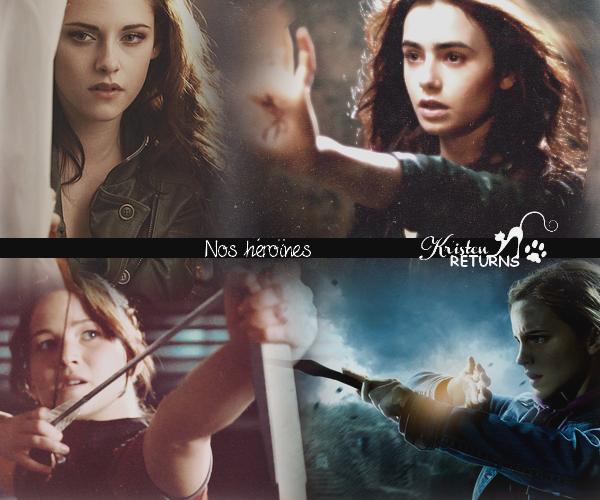 ♐  Nos héroïnes