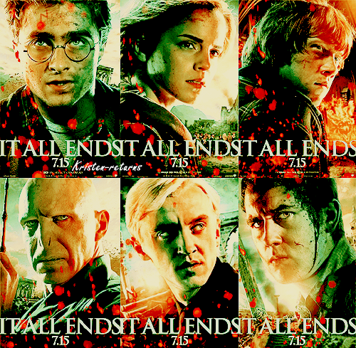 La fin tant redoutée de la saga Harry Potter ...