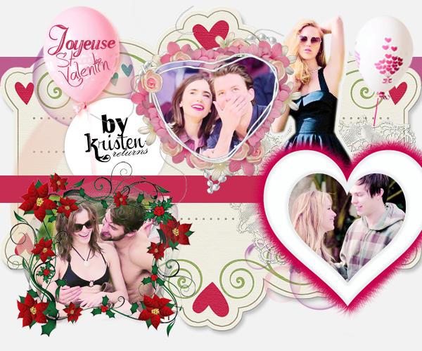 ♥ Joyeuse St-Valentin à tous !