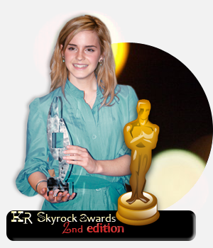 Kristen-returns skyrock awards 2012; 2nd Edition