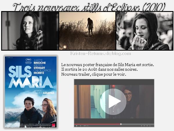 - Les films de Kristen : les news !