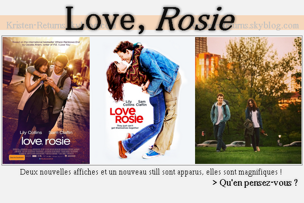 # News du 11.07.14 •  Love, Rosie  •  Queen of the Tearling  •