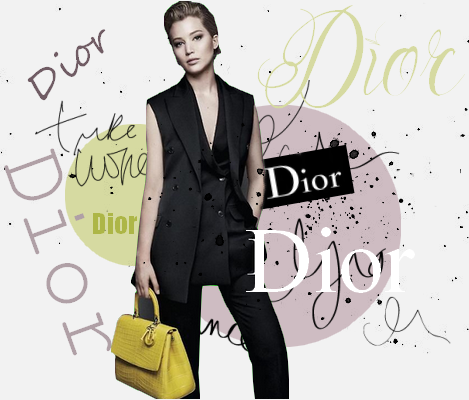 Shooting l Jennifer pose pour DIOR!