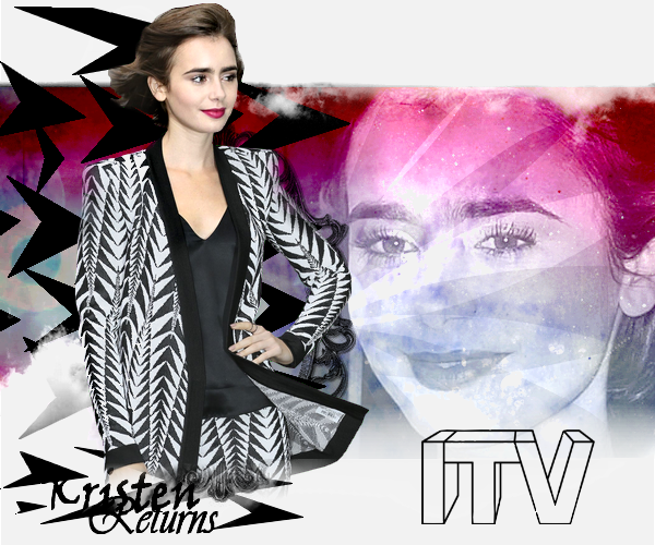 | Candid's | Lily sort des studios ITV