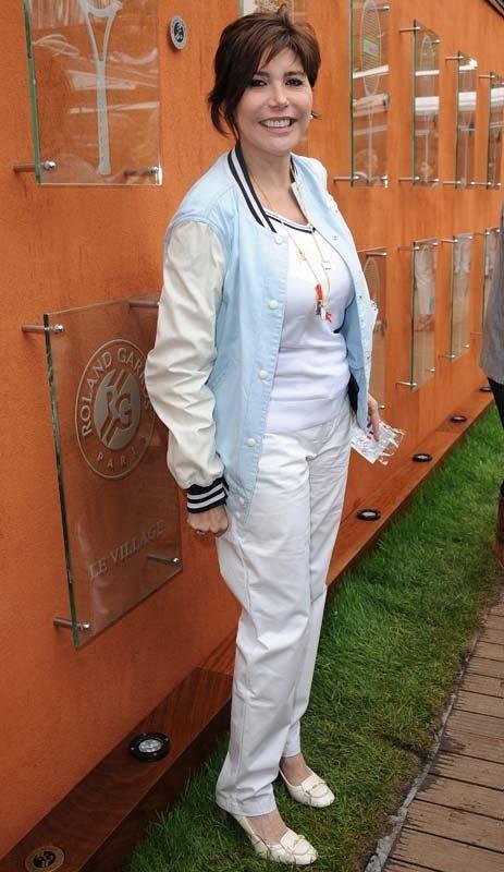 Liane à Roland Garros