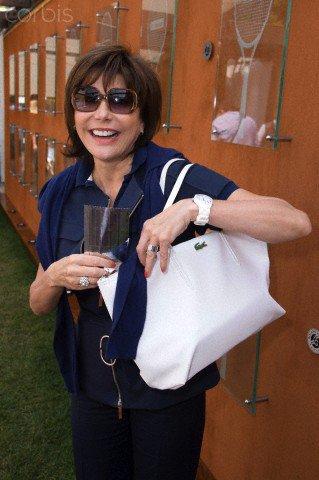 Liane à Roland Garros le 8 juin 2013 - Finale Femmes