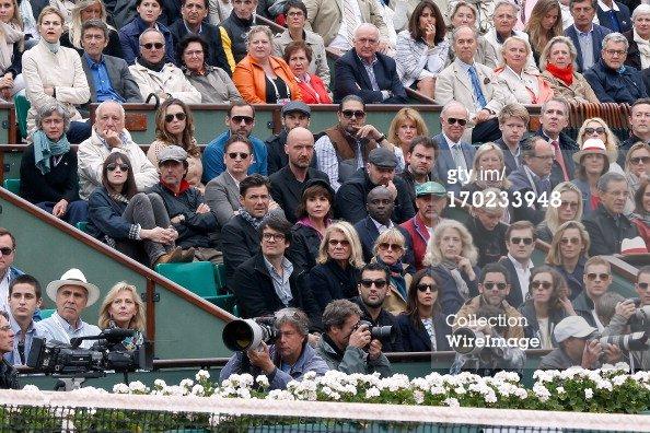 Liane à Roland Garros le 9 juin 2013 - Finale hommes