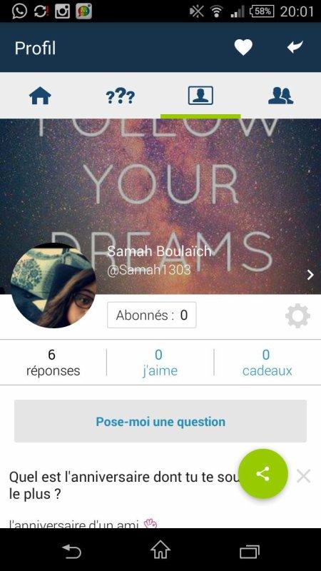 Venez ask posez moi une question :)