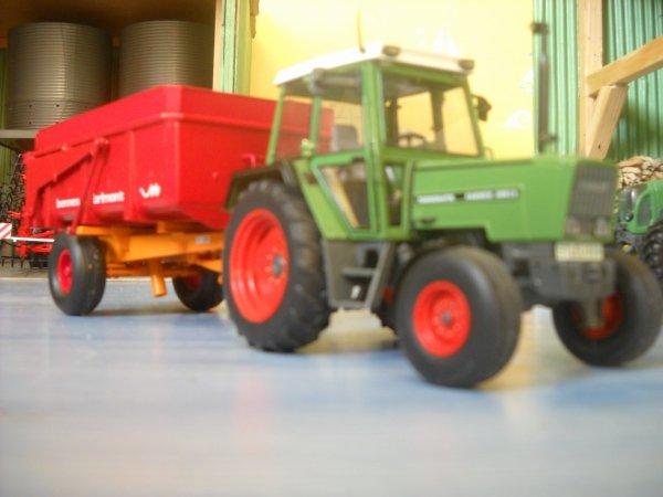 fendt farmer 306ls et benne Brimont bb8