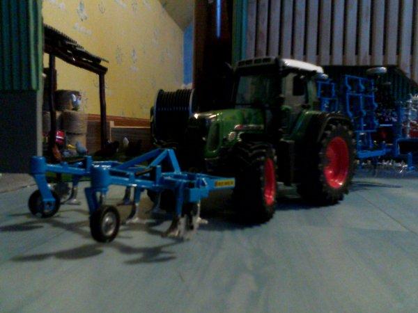 Passage du cultivateur Bonne 4.60m avec le Fendt 820vario TMS