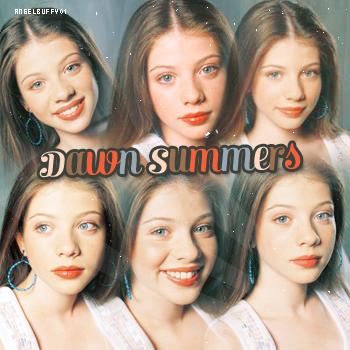 Dawn Summers L'arrivée de Dawn est annoncée de façon cryptique lors de deux rêves faits par des personnages dans la saison 4. Dans l'épisode Une revenante, partie 1, Faith rêve qu'elle et Buffy préparent le lit pour l'arrivée de la petite s½ur ; et dans l'épisode Cauchemar, lors du rêve de Buffy, Tara lui dit de revenir avant l'aube.