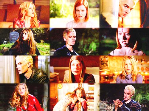 Episode 1 Saison 06 - Chaos, Première Partie  L'équipe s'organise pour tenter de pallier la mort de Buffy. La communauté des vampires et autres monstres ne sait pas encore que la mythique Tueuse n'est plus: le Robot-Buffy est la pour donner le change. Contre toute attente; Willow prépare l'impensable.